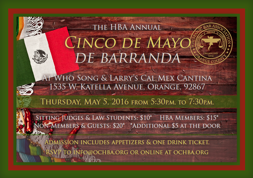 Cinco de Mayo Mixer