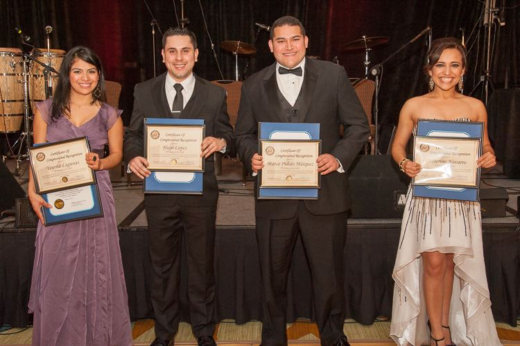 2014 Wally Davis Scholarship Recipients at the 2014 OC HBA Annual  Fundraising Event. Yesenia Lagunas, UC Hastings College of the Law, Hugo  López, ...